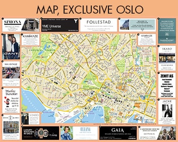 exclusive oslo map